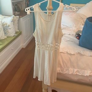 Classic free people white dress
